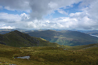 The Southern Highlands from near the summit of Ben Vorlich, Loch Lomond and The Trossachs National Park; Argyll & Bute<br /> <br /> Copyright www.scottishhorizons.co.uk/Keith Fergus 2011 All Rights Reserved