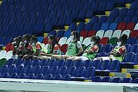 CALI - COLOMBIA, 10-12-2020: América de Cali e Independiente Santa Fe en partido por la final ida como parte de la Liga Femenina BetPlay DIMAYOR 2020 jugado en el estadio Pascual Guerrero de la ciudad de Cali. / America de Cali and Independiente Santa Fe in first leg final match as part of Women's BetPlay DIMAYOR 2020 League played at Pascual Guerrero stadium in Cali. Photo: VizzorImage / Gabriel Aponte / Staff
