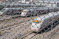 ICE-Werk Berlin-Rummelsburg der Deutschen Bahn AG.<br /> Im Bild: ICE-Zuege stehen im Aussenbereich des ICE-Werk.<br /> 10.4.2018, Berlin<br /> Copyright: Christian-Ditsch.de<br /> [Inhaltsveraendernde Manipulation des Fotos nur nach ausdruecklicher Genehmigung des Fotografen. Vereinbarungen ueber Abtretung von Persoenlichkeitsrechten/Model Release der abgebildeten Person/Personen liegen nicht vor. NO MODEL RELEASE! Nur fuer Redaktionelle Zwecke. Don't publish without copyright Christian-Ditsch.de, Veroeffentlichung nur mit Fotografennennung, sowie gegen Honorar, MwSt. und Beleg. Konto: I N G - D i B a, IBAN DE58500105175400192269, BIC INGDDEFFXXX, Kontakt: post@christian-ditsch.de<br /> Bei der Bearbeitung der Dateiinformationen darf die Urheberkennzeichnung in den EXIF- und  IPTC-Daten nicht entfernt werden, diese sind in digitalen Medien nach §95c UrhG rechtlich geschuetzt. Der Urhebervermerk wird gemaess §13 UrhG verlangt.]