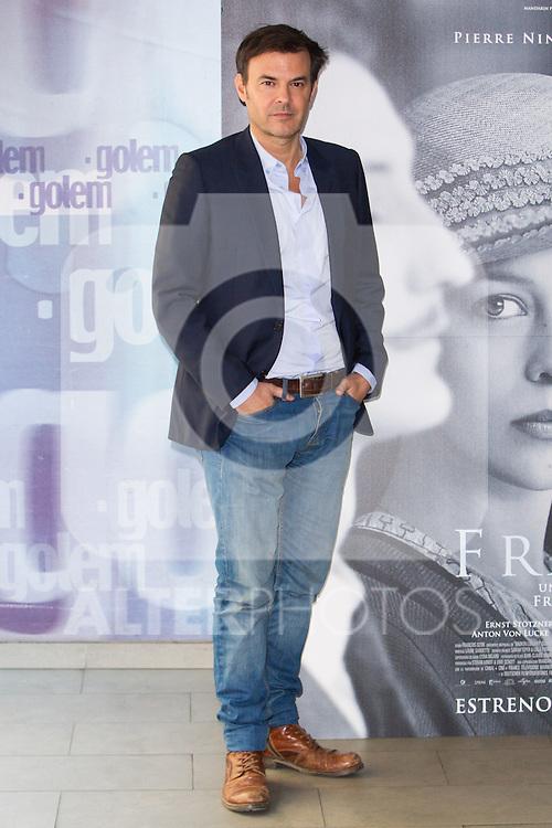 "Francois Ozon attends at the premiere of the flim ""Frantz"" in Madrid, Spain. december 19, 2016. (ALTERPHOTOS/Rodrigo Jimenez)"