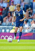 July 25, 2012..Amy Le Peilbet (6), USA vs France Football match during 2012 Olympic Games at Hampden Park in Glasgow, England. USA defeat France 4-2 after conceding two goals in the first half of the match...(Credit Image: © Mo Khursheed/TFV Media)