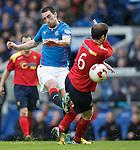 Lee Wallace shoots past Michael Dunlop