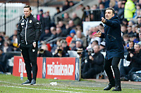 Swansea Manager Carlos Carvalhal during The Emirates FA Cup match between Notts County and Swansea City at Meadow Lane, Nottingham, England, UK. Saturday 27 January 2018