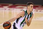 League ACB-ENDESA 2020/2021.Game 15.<br /> FC Barcelona vs Club Joventut Badalona: 88-74.<br /> Xabi Lopez-Arostegui.