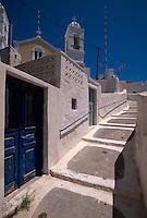 Griechenland, Agios Damian in Megalochori auf der Insel Santorin (Santorini)