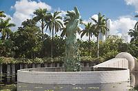 Miami, Florida.  Holocaust Memorial, South Beach.