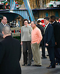 Diana Taylor & Mayor Michael Bloomberg.appearing in the 2007 Macy's Thanksgiving Day Parade, New York City..November 22, 2007.© Walter McBride / .