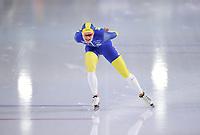 SPEEDSKATING: HEERENVEEN: 17-01-2021, IJsstadion Thialf, ISU European Speed Skating Championships, Nils van der Poel, ©photo Martin de Jong