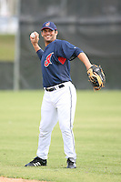 March 20th 2008:  Ryan Garko of the Cleveland Indians during a Spring Training game at Chain of Lakes Park in Winter Haven, FL.  Photo by:  Mike Janes/Four Seam Images
