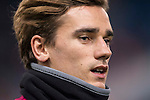 Antoine Griezmann of Atletico de Madrid in training prior to the La Liga match between Atletico de Madrid and RCD Espanyol at the Vicente Calderón Stadium on 03 November 2016 in Madrid, Spain. Photo by Diego Gonzalez Souto / Power Sport Images