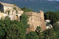 Europe/France/Corse/2B/Haute-Corse/Cap Corse/Bastia: Détail des remparts de la citadelle