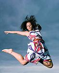Molly modelling Vivienne Westwood designs..