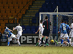 St Johnstone v Inverness Caley Thistle…09.03.16  SPFL McDiarmid Park, Perth<br />Chris Kane scores for saints<br />Picture by Graeme Hart.<br />Copyright Perthshire Picture Agency<br />Tel: 01738 623350  Mobile: 07990 594431