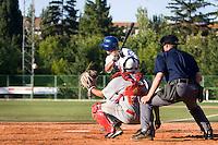 BASEBALL - EUROPEAN UNDER -21 CHAMPIONSHIP - PAMPELUNE (ESP) - 03 TO 07/09/2008 - PHOTO : CHRISTOPHE ELISE .ITALY VS SPAIN (WINNER 11-2) -  BATTING ILLUSTRATION