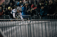 Mathieu van der Poel (NED/Beobank-Corendon)<br /> <br /> Elite Men's Race<br /> Superprestige Diegem / Belgium 2017