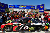 #78: Martin Truex Jr., Furniture Row Racing, Toyota Camry 5-hour ENERGY/Bass Pro Shops and team celebrate in victory lane