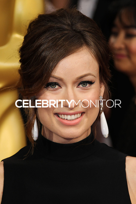 HOLLYWOOD, LOS ANGELES, CA, USA - MARCH 02: Olivia Wilde at the 86th Annual Academy Awards held at Dolby Theatre on March 2, 2014 in Hollywood, Los Angeles, California, United States. (Photo by Xavier Collin/Celebrity Monitor)