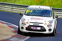 Race of Germany Nürburgring Nordschleife 2016 Free training 2 ETCC 2016 #184 RAVENOL Motorsport Ford Fiesta Ulrike Krafft (DEU) © 2016 Musson/PSP. All Rights Reserved.