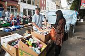 Camden Council launches revamped Chalton Street market.
