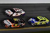 #95: Christopher Bell, Leavine Family Racing, Toyota Camry Procore, #11: Denny Hamlin, Joe Gibbs Racing, Toyota Camry FedEx Express, #12: Ryan Blaney, Team Penske, Ford Mustang Menards / Peak