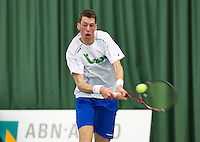 Januari 24, 2015, Rotterdam, ABNAMRO, Supermatch, Wesley Visser <br /> Photo: Tennisimages/Henk Koster