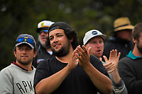 Fans applaud Kane Williamson during day three of the second International Test Cricket match between the New Zealand Black Caps and Pakistan at Hagley Oval in Christchurch, New Zealand on Tuesday, 5 January 2021. Photo: Dave Lintott / lintottphoto.co.nz