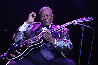 HOLLYWOOD, FL - JULY 24 :  BB King performs live at Hard Rock Live held at The Seminole Hard Rock Hotel & Casino  July 24, 2007 in Hollywood, Florida<br /> <br /> <br /> People:  BB King