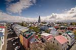 Reykjavik Arieal Shots 2015