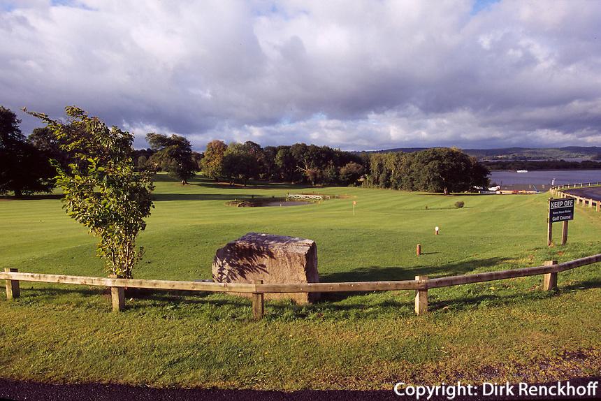 Großbritannien, Nordirland, Killadea in Fermanagh, Golfplatz Manor House