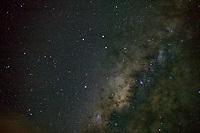 Milky Way Galaxy. Bora Bora.
