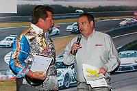 Jeff Stone of Kelly-Moss Road and Race, Team Champion, Platinum Class, John Hindhaugh, GT3 Banquet