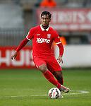 Nederland, Enschede, 26 april  2015<br /> Eredivisie<br /> Seizoen 2014-2015<br /> FC Twente-AZ<br /> Renato Tapia van FC Twente