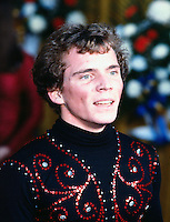 Daniel Beland of Canada competes at the 1981 Canadian figure skating championships in Halifax, Canada. Photo copyright Scott Grant.