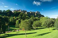 Edinburgh Castle from Princes Street Gardens, Edinburgh