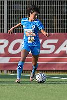 4th September 2021; Agostino di Bartolomei Stadium, Rome, Italy; Serie A womens championship football, AS Roma versus Napoli ; Francesca Imprezzabile of Napoli