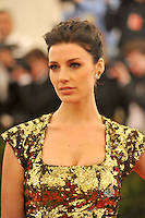 Jessica Pare at the 'Schiaparelli And Prada: Impossible Conversations' Costume Institute Gala at the Metropolitan Museum of Art on May 7, 2012 in New York City. ©mpi03/MediaPunch Inc.
