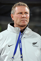 New Zealand manager Ricki Herbert. Spain defeated New Zealand 5-0 during the FIFA Conferderations Cups at Royal Bafokeng Stadium, in Rustenburg South Africa on June 14, 2009.