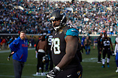 Jacksonville Jaguars Jermey Parnell (78) after an NFL Wild-Card football game against the Buffalo Bills, Sunday, January 7, 2018, in Jacksonville, Fla.  (Mike Janes Photography)