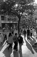 FILE PHOTO -  Festival Juste Pour Rire, August 1992.<br /> <br /> Photo : Pierre Roussel - Agence Quebec Presse