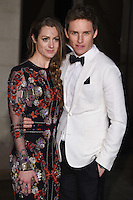 Hannah Bagshawe and Eddie Redmayne<br /> at the 2017 BAFTA Film Awards After-Party held at the Grosvenor House Hotel, London.<br /> <br /> <br /> ©Ash Knotek  D3226  12/02/2017