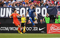 Cleveland, Ohio - Tuesday June 12, 2018: Tierna Davidson during an international friendly match between the women's national teams of the United States (USA) and China PR (CHN) at FirstEnergy Stadium.