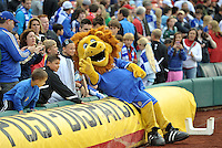 Chelsea mascot The Blue Lion..Manchester City defeated Chelsea 4-3 in an international friendly at Busch Stadium, St Louis, Missouri.