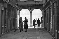 - Venezia, dicembre 1981..- Venice December 1981