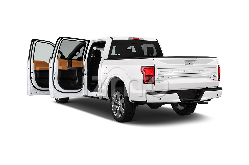 Car images of 2017 Ford F-150 Limited-SuperCrew 4 Door Pickup Doors