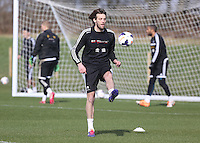 Pictured: Michu. Saturday 08 March 2014<br />
