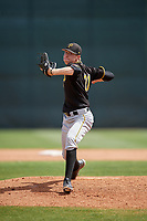 Pittsburgh Pirates pitcher Pasquale Mazzoccoli (71) delivers a pitch during a minor league Spring Training game against the Philadelphia Phillies on March 24, 2017 at Carpenter Complex in Clearwater, Florida.  (Mike Janes/Four Seam Images)