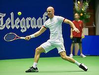 17-12-13,Netherlands, Rotterdam,  Topsportcentrum, Tennis Masters, ,   Melle van Gemerden<br /> Photo: Henk Koster
