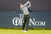 190719 | The 148th Open - Day 2<br /> <br /> Rory McIlroy tees ff at the 1st during the 148th Open Championship at Royal Portrush Golf Club, County Antrim, Northern Ireland. Photo by John Dickson - DICKSONDIGITAL