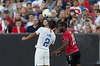 CLEVELAND, OHIO - JUNE 22: Nick Lima during a 2019 CONCACAF Gold Cup group D match between the United States and Trinidad & Tobago at FirstEnergy Stadium on June 22, 2019 in Cleveland, Ohio.