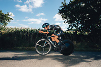 6th October 2021 Womens Cycling Tour, Stage 3. Individual Time Trial; Atherstone to Atherstone. Leah Kirchmann.